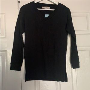 New with Tags black LOFT sweater